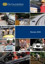 Download Review 2005 (PDF - 1.6mb) - FIA Foundation