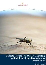 Malariavejledning 040308.doc - Søfartsstyrelsen