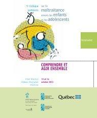 PROGRAMME - Université de Montréal