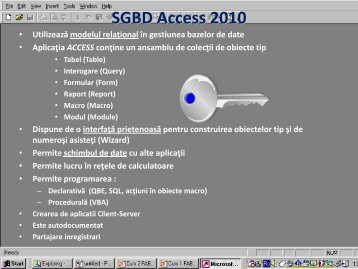 SGBD Access '97/2000
