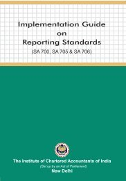Implementation Guide on Reporting Standards - CAalley.com