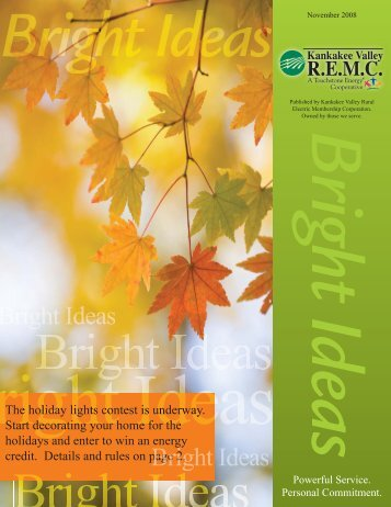 November 2008 - Kankakee Valley REMC