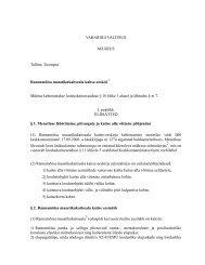 Rannamõisa maastikukaitseala kaitse-eeskiri ... - Keskkonnaamet