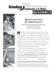 Effective Instruction for English Learners, Margarita Calderón