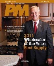 October 2011 Volume 29, Number 8 - First Supply