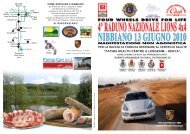 Programma Raduno - Off Road Web
