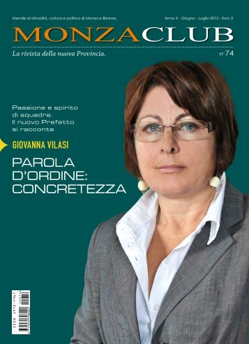 www .pirola.com La rivista della nuova Provincia. - Monza Club