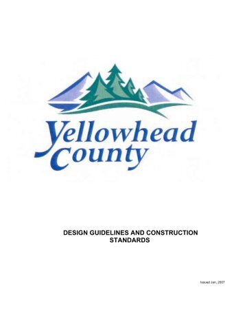 Design Guidelines and Construction Standards
