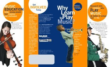 Why Learn toPlay Music? - Kentucky Music Educators Association