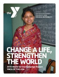 2010 Annual Report - YMCA