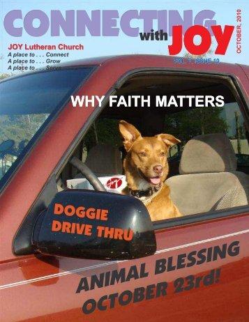 Newsletter 10-10 - JOY Lutheran Church