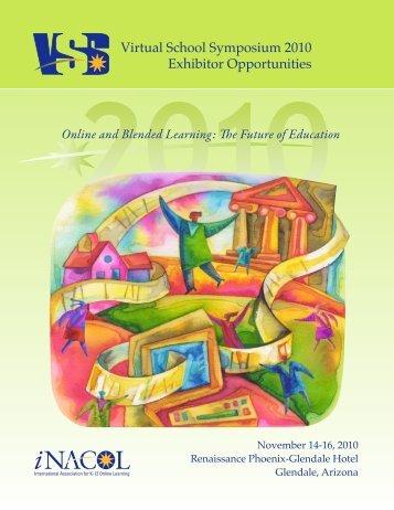 Exhibitor Prospectus - Virtual School Symposium 2010 - iNACOL