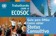 Comissão de Desenvolvimento Sustentável - UN DESA NGO Branch