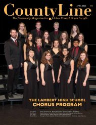 CHORUS PROGRAM - County Line Magazine