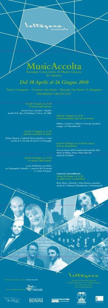 VI edizione (2010) - Teatro Lottagono