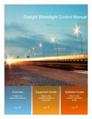 Airinet Streetlight Control System Installation Manual - Dialight