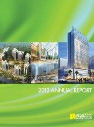2012 Annual Report - Investor Relations - Regal Hotels International