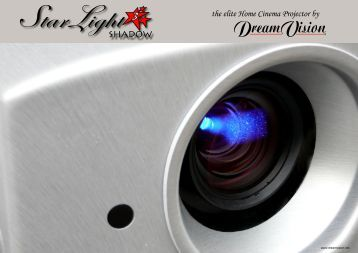 the elite Home Cinema Projector by SHADOW - DreamVision