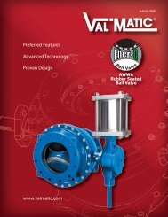 View Brochure - Val-Matic Valve and Manufacturing Corp.