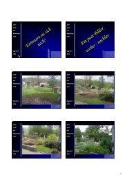 Spielplatz - Bilder vorher und nachher - Eggenwil