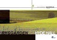 RHS Garden Hyde Hall - Chelmsford Borough Council