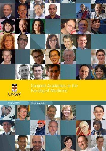 UNSW Medicine Conjoint Academics 2011 - Faculty of Medicine