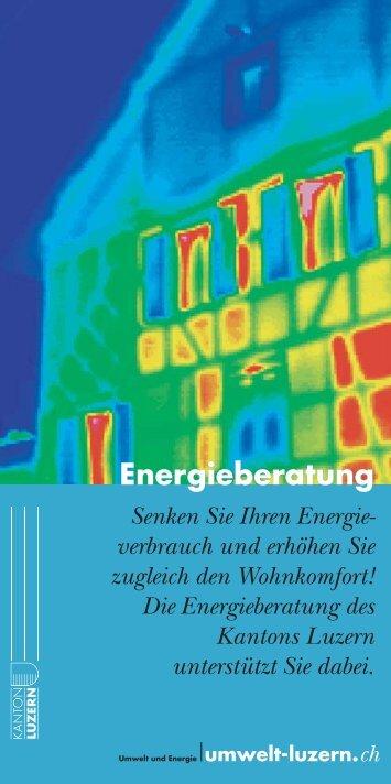 Energieberatung - Energie Zentralschweiz
