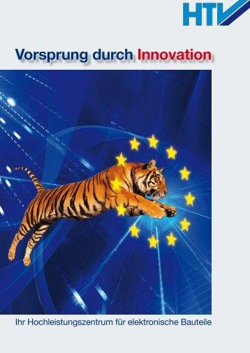 Vorsprung d... - Halbleiter Test- und Vertriebs GmbH