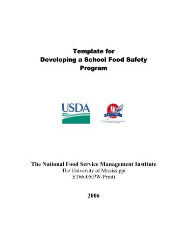 safety programs template