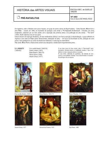 Pré-Rafaelitas - Home Page de José Manuel Russo