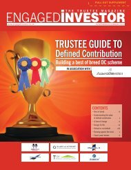 Trustee Guide to Defined Contribution - Engaged Investor