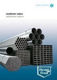rostfreie rohre stainless tubes - SCHMOLZ-BICKENBACH.HU