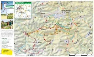 Xundwärts-Routen