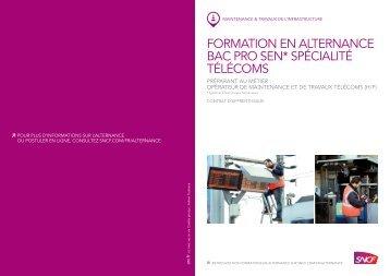 formation en alternance bac pro sen* spécialité télécoms - SNCF.com