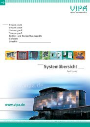 Systemübersicht - Vipa.com