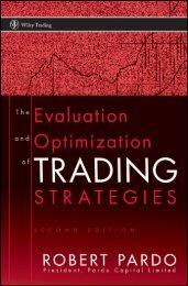 Evaluation and Optimization of Trading Strategies - Arabictrader.com