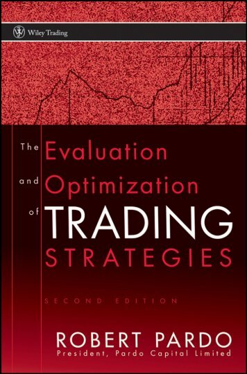 Evaluation and Optimization of Trading Strategies - Arabictrader.com