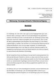 Merkblatt Vorsorgevollmacht _DrDöbereiner