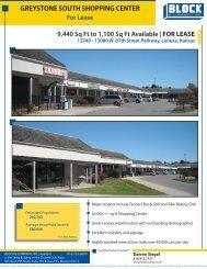 Greystone South Shopping Center.pdf - Block and Company