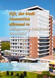 Regiobrochure Humanitas Hillegersberg-Schiebroek - Stichting ...