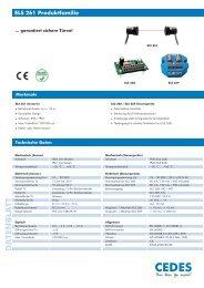 ELS 261 Produktfamilie - Cedes.com