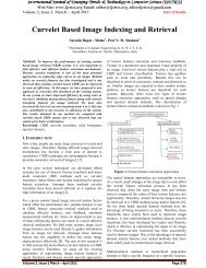 Curvelet Based Image Indexing and Retrieval - IJETTCS ...