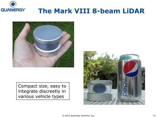 The Mark VIII 8-beam LiDA
