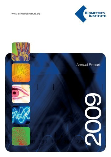 Biometrics AR 2009:FA Composite - Biometrics Institute