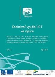 ICT pro učitele - metodická příručka - UTEE - Vysoké učení ...