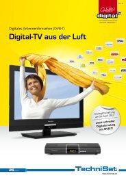 Digital-TV aus der Luft - DVB-T-Portal