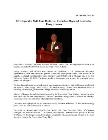 SRC Separates Myth from Reality on Biofuels at Regional ...