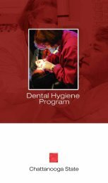 dental hygiene booklet b&w - Chattanooga State Community College