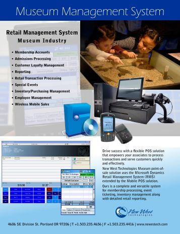 Museum Management System - New West Technologies