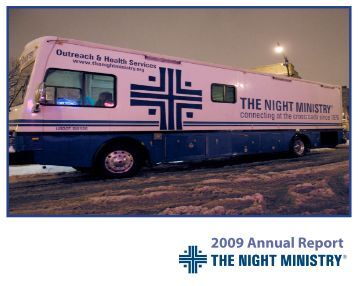 2009 Annual Report - The Night Ministry